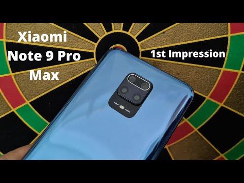 Xiaomi Redmi Note 9 Pro Max: 1st impression
