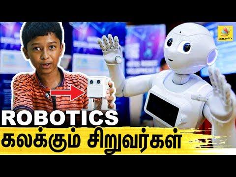 ROBOTICS'ல் பூந்து விளையாடும் சென்னை குட்டிஸ்   Future Robotic For The Young Generation, DIYA