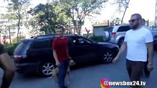 На улице Толстого разборка между автомобилистами закончилась дракой