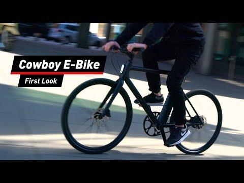 Schickes Rad: Das E-Bike Cowboy im First Look