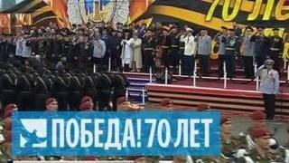 В Грозном представили историческую реконструкцию штурма Рейхстага