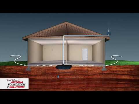 In this video Bob Brown discusses heave and settlement in a home's foundation.  He also shows how our MoistureLevel system works.  Contact us today for a free initial inspection on your home!