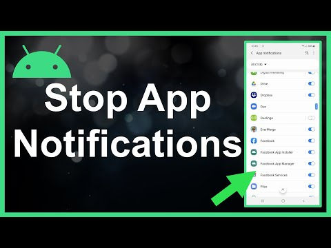 How To Turn Off App Notifications On Android
