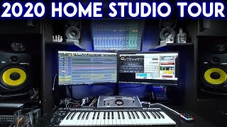 Home Music Studio Tour With Soundbooth / Soundroom (2020)