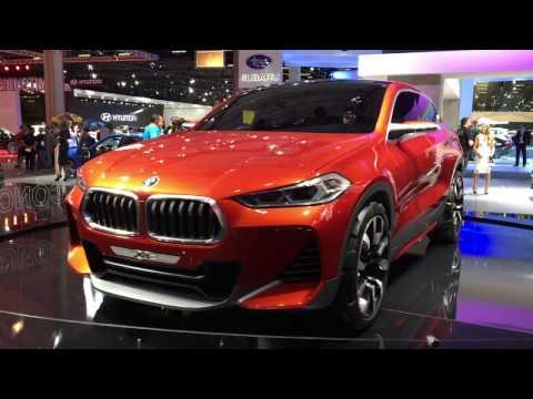 BMW mostra conceito X2 e confirma novo SUV no Brasil