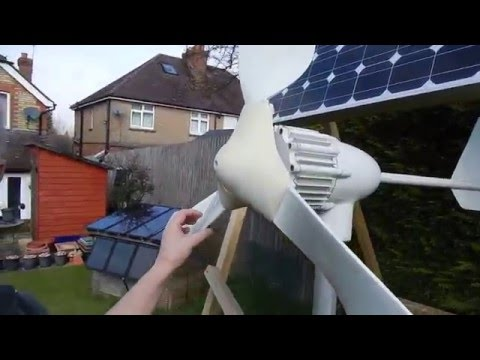New Wind Turbine addition to Solar Power System