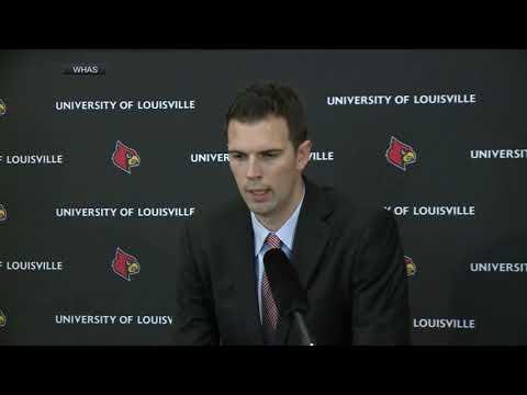 New Louisville acting coach David Padgett: 'It's been a dark week'   ESPN