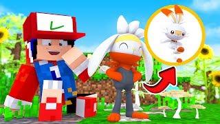 Raboot  - (Pokémon) - Minecraft : EVOLUI MEU SCORBUNNY *RABOOT*  - POKEMON FUTURE 3 Ep.3 « Nitro »