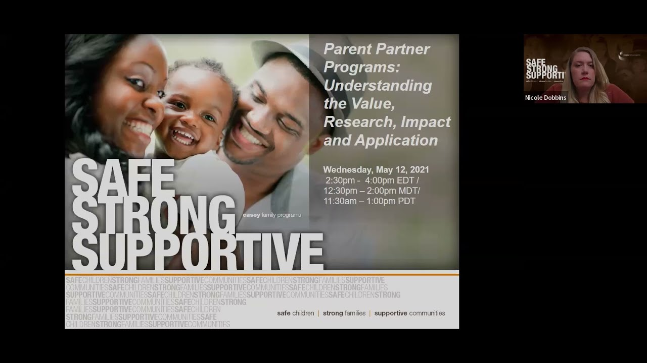 Parent partner programs: Understanding their value, research, impact, and application