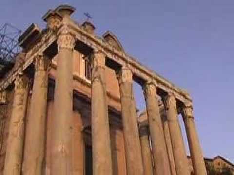 Het Forum Romanum en het Colosseum