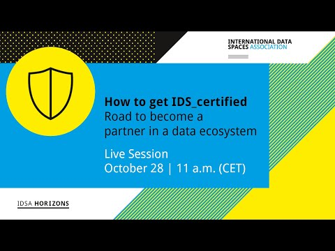 How to get IDS certified: The road to become partner in a data ...