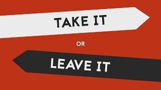 Take It or Leave It - The Strokes | Lyric Video