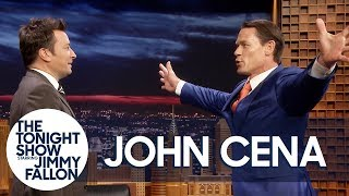 John Cena Demonstrates His Sixth Move of Doom on Jimmy Fallon