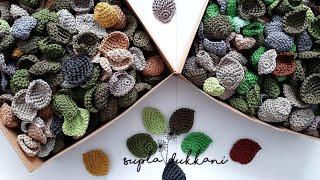 Yaprak Yapımı (How To Crochet Leaves)