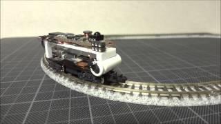 【鉄道模型】Nゲージ ステッピングモーターで走らせてみた 1