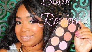 Makeup Mania La Femme Blush Review & Swatches