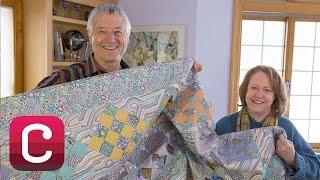 Make A Dreamy Hexagons Quilt With Kaffe Fassett And Liza Lucy  Creativebug