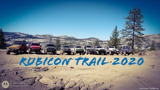 Rubicon Trail 2020, The Right Line