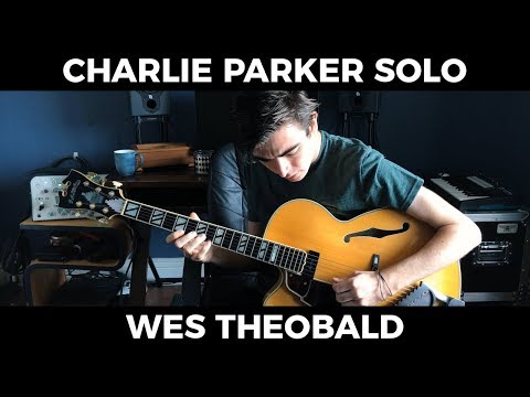 "Charlie Parker ""Tiny's Tempo"" Transcription - Jazz Guitar Solo Lesson"