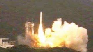 打上の瞬間イプシロン打ち上げ成功JAXA宇宙航空研究開発機構EpsilonLaunchsuccessJAXA