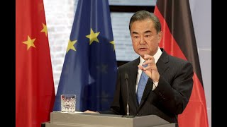 How are successive visits by both Chinese and American top diplomats affecting Europe?