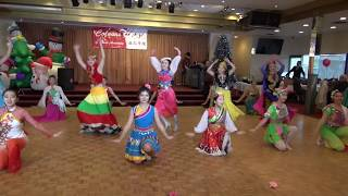 Chinese dance - Celebration 中國范兒 - Colours of Dance Xmas Party 2017