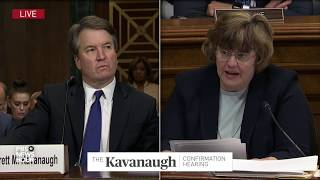 We 'drank beer' and sometimes had too many, Kavanaugh says at hearing