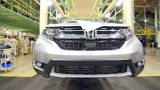 Honda CR-V (2017) Production - Car Factory