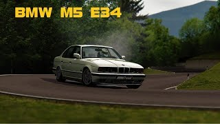 1991 Bmw M5 E34 - Assetto Corsa Mod