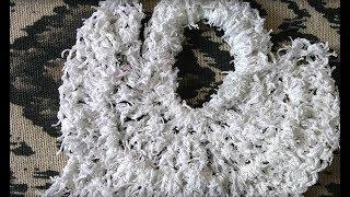 Angel Dishcloth Crochet Tutorial