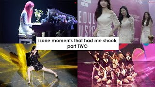 izone moments that had me shook PART TWO