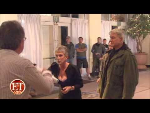 ET Online - Who makes Jamie Lee Curtis blush?