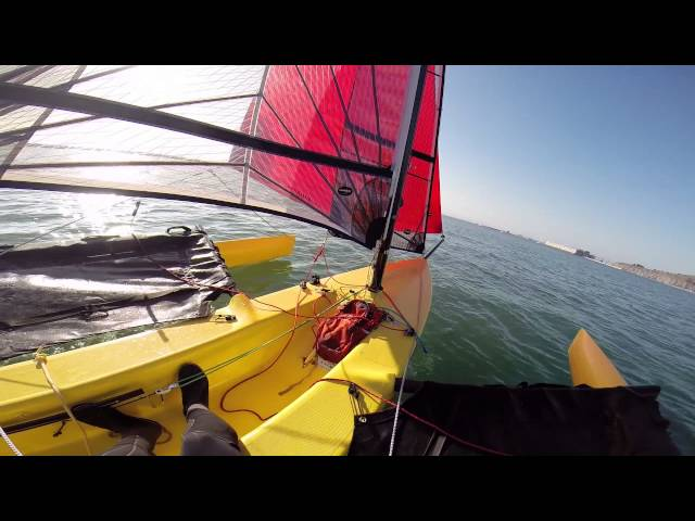 Weta Trimaran Sailing Tips and Techniques - Part One