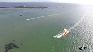Kite Surfing Silver Strand Galway Ireland