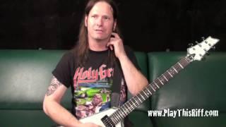 """EXODUS """"Deathamphetamine"""" guitar lesson"""