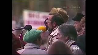 """Редкие кадры с советского """"майдана"""" (госпереворота) 1990 год."""