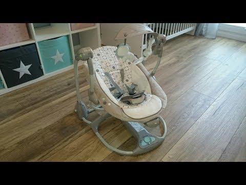 Ingenuity Babyschaukel Schaukel ConvertMe Swing-2-Seat baby bouncer swing deutsch english Wippe