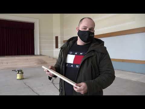 Norit remontdarbi Skrundas kultūras namā