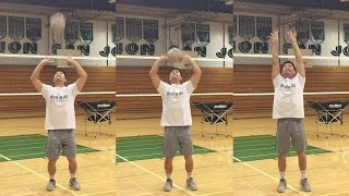 Timing + Hand Sensitivity - How to SET a Volleyball Tutorial (part 2/5)