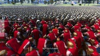 1万のゾンビ vs  300人のスパルタ軍!どちらが勝つのか!?Ultimate Epic Battle Simulator実況プレイ