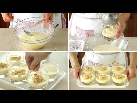 CREMA + CHEESECAKE + BUDINO = CREAM CHEESE PUDDING - ricetta dolce al cucchiaio facile