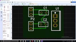 EasyEDA desktop application for PCB designing