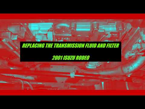 Download 2001 Isuzu Rodeo Replacing Transmission Fluid And