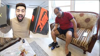 GIFTING Dad New Nike Shoes