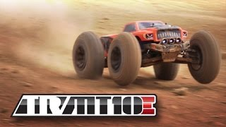 Redcat TR-MT10E 1/10 Scale Brushless Electric RC Monster Truck