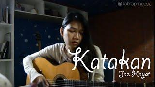 JAZ  KATAKAN Cover By Tabita Princesia