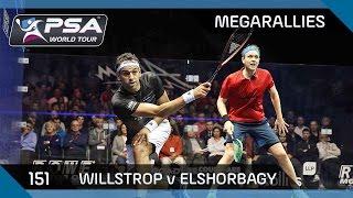 Mega-Rallies - Willstrop v Elshorbagy