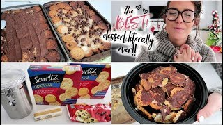 Literally The BEST HOLIDAY DESSERT Recipe EVER! || Ritz Cracker Christmas Crack ||