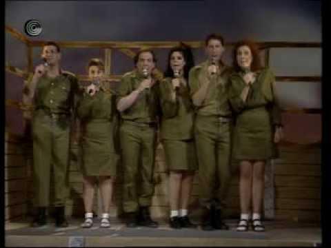 מחרוזת פארודית לשירי הלהקות הצבאיות