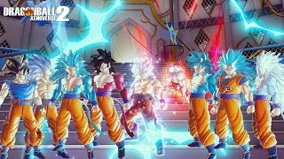 Goku All 30 Transformations Ultimate Final Forms (So Fukin Incredible) - Dragon Ball Xenoverse 2